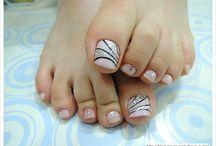 νυχια ποδια
