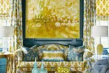 Interior Color Schemes / by Heidi Pribell Interiors