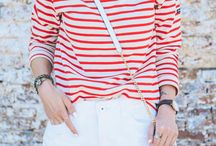 Red striped
