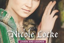 The Highland Laird's Bride / Lovers and Legends Harlequin Historical Nicole Locke medieval romance book series