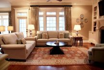 lovely living spaces / by Chellie Gordon
