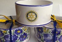 Bontempo ceramiche 1862 ROTARY international / Rotary club international