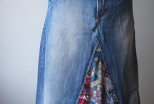 старые джинсы