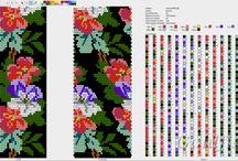 Bead crochet - schematy