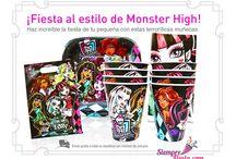 Fiesta de Monster High / Ideas y artículos para fiesta de cumpleaños de Monster High.