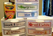 Okul Öncesi Organize İşler