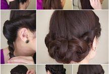 Hairdo for ball