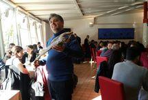 """Una domenica speciale / Domenica scorsa abbiamo ospitato a pranzo 30 giornalisti provenienti da 30 paesi. Tutti affascinati dal baccalà e dallo stoccafisso, dalla catalanesca, dal pomodorino del piennolo raccontati da Luigi. Li abbiamo deliziati con una zuppetta di fagioli """"dente di morto"""" (presidio Slowfood), stoccafisso con lardo, pancetta e rosmarino, baccalà e patate, crostata di albicocche """"pellecchielle"""". http://www.sardegnareporter.it/successo-per-villa-augusto-…/"""