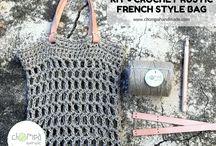 Crochet DIY kits / Crochet kits made by Chompa Handmade. Find them online www.chompahandmade.com