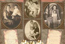 Heritage scrapbooking / by Judy Dehoux