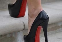 high heels and shoes
