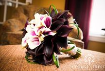 Calla bouquets/boutonnieres / by Aronia C.