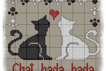 Cross stitch - Embroidery - Beads embroidery