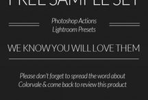Actions and Presets / LR presets and PS actions