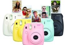 Instax Instant / Fujifilm Instax instant cameras and other Polaroid models.