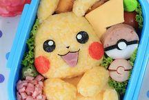 Pikachu / Alt der har noget at gøre med Pikachu. Mad, ting, tegninger osv