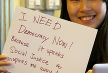 I Need Democracy Now! Because... / Share your photo or video at http://www.democracynow.org/because / by Democracy Now!