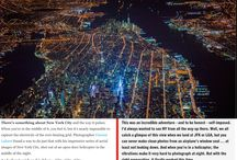 New York City Electrified. / Extraordinary Aerial Photographs Capture the Pulse of the City