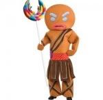 Warrior and Ninja costumes
