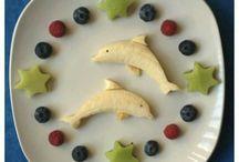 decoracion con comida