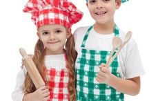 Cooking with Kids / Kids in the kitchen? Yes! Cooking with kids can be a lot of fun.
