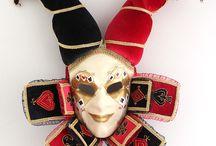 Интерьерная венецианская маска Джокер