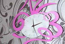 RELOJES DECORATIVOS / Relojes de pared con diseños originales