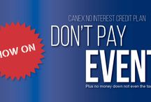 No Interest Credit Plan / Check out these products available on the CANEX No Interest Credit Plan