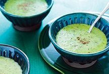 lettuce and cukes soups