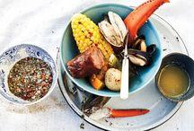 Clambakes / Recipes from around the web for backyard clambakes / by Matt McMahon