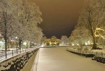 Sweden, Austria, Germany / Places I lived
