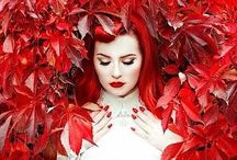 RED / Use the colour RED to bring confident, stable,grounding energy into your life.