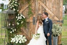 Vintage doors / How to use vintage doors at your wedding