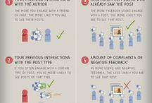 Social Media Info / Tips, tricks and infographics