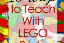 English with lego