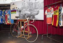Cyclostory / Racefietsen en wielergerelateerde voorwerpen met een verhaal
