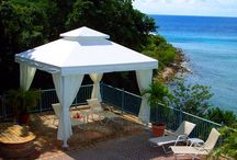 Cabanas  / Here's a variety of our Cabanas/Gazebos work!