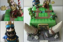 Clash Royale Cake