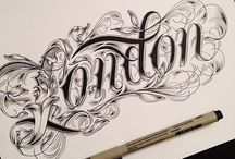 Tipografia + desenho