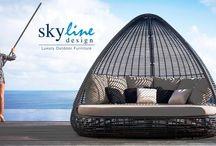 Skyline Design на I Saloni Moscow / Skyline Design большая международная компания, специализирующаяся на производстве элитной уличной мебели.