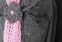crafts- CROCHET - scarf - shrug - shawl