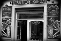 tattoo studio interior