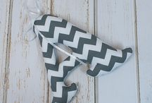 Literki / Literki trójwymiarowe 18 lub 30 cm wysokości, uszyte z tkaniny bawełnianej w dowolny wzór i kolor