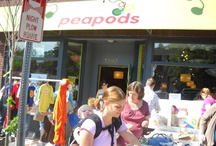 Sidewalk Sale 2011 / by Peapods Natural Toys & Baby Care