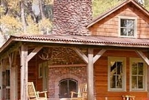 »Cabins & Outdoor Living / by Diane Zillich