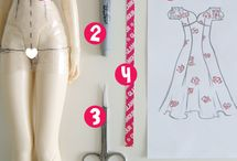 diy doll dress pattern making