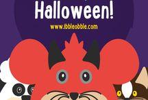 Happy Halloween! / Happy #Halloween from #Ibbleobble - #Educational #apps for #Kids #children #fun #trickortreat!