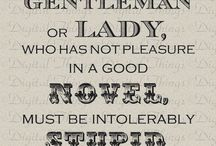 Dear Jane / Anything pertaining to the works of Jane Austen