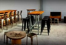 Industrial. / Our gorgeous range of Industrial style furniture available to hire for events, parties, weddings....You name it!!