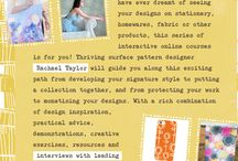 Design School / Learn how to design patterns with our design school: The Art and Business of Surface Pattern Design. Find out more: http://makeitindesign.com/design-school/ Module 1: Designing your way,  Module 2: Creating your Professional Identity Module 3: Monetising Your Designs Module 4: Building Your Professional Portfolio